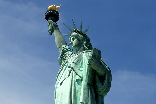 liberty enlighting the world