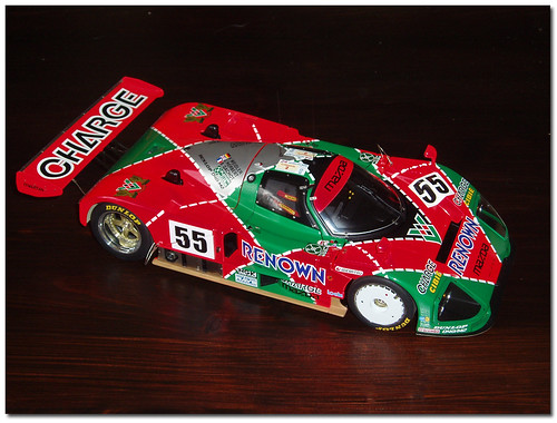 Mazda 787B Group C. Le Mans