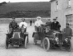 Group in motor cars, Bunmahon, Co. Waterford (National Library of Ireland on The Commons) Tags: june outdoors costume driving saturday 1906 16th waterford automobiles 1900s glassnegative coppercoast nationallibraryofireland copperhouse ahpoole mi19 locationidentified mrmeardon meardon mi53 poolecollection arthurhenripoole williamcordner dublinminingcompany wjcordner francisrutledge