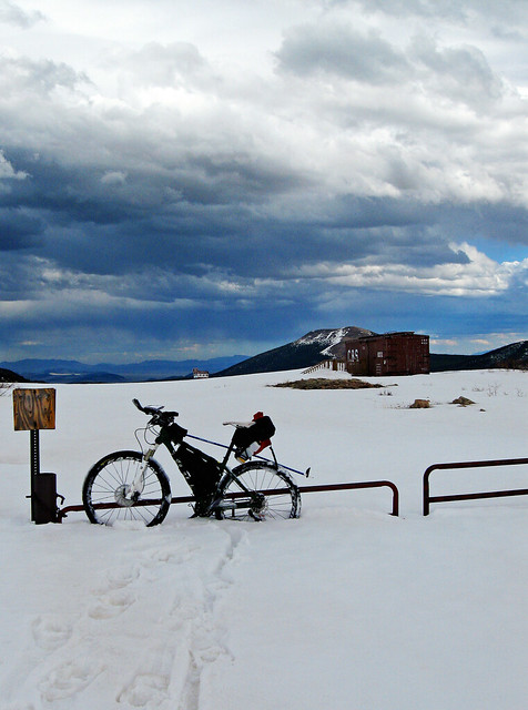 Snow Accumulation of Boreas Pass