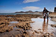 Agua (- GD photography -) Tags: grancanaria nikon playa canarias fotografia islas canaria playas camaras laspalmas maratón lascanteras laspalmasdegc d90 mesaylópez viiimaratóndefotografía