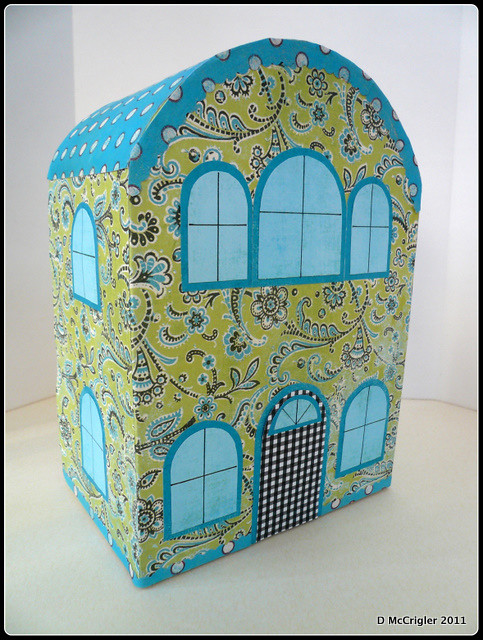 Cute Little Dollhouse exterior