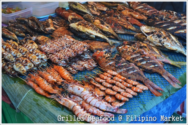 Filipino Market Grilled Seafood