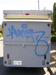AUNER (]L ][ /A\ ]M[) Tags: graffiti tag illegal handstyle