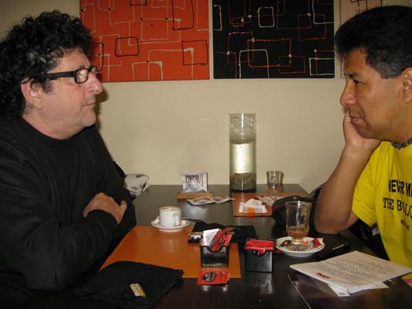 Entrevista con Raúl Perrone