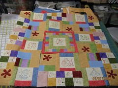 Sweat Pea's Quilt - Cinderberry Stitches