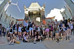 Los Angeles Pantless group jump (mahdroo) Tags: losangeles pants hollywood pantless gla chinesetheater mahdroo guerillaimprov