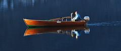 reflection (maurizio messa) Tags: lake reflection lago see boat barca riflesso lagodilugano ceresio capolago