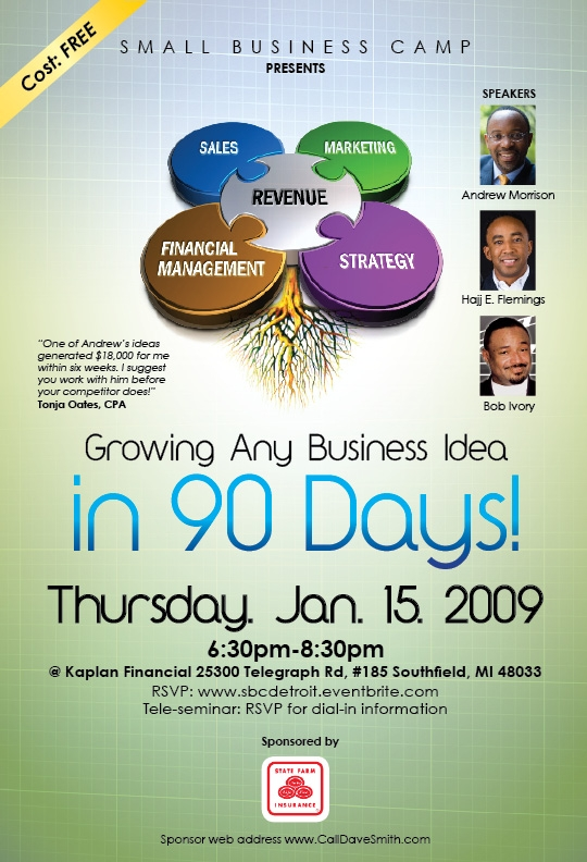 Small Business Camp Workshop