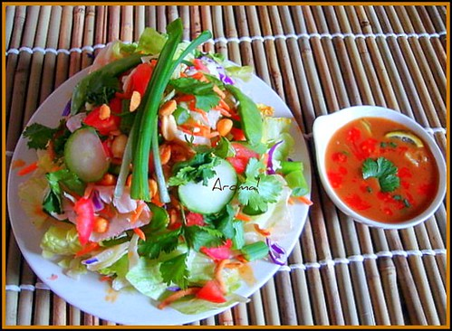 Spicy Thai salad 1