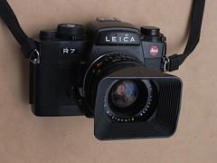 Leica R7 and Elmarit-R 1:2.8 28mm lens (jiulong) Tags: leica lens 28mm r7 128 elmaritr