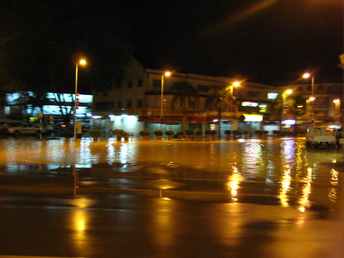 Central Road Flooded