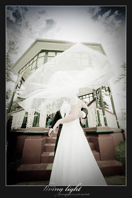 Swirling veil
