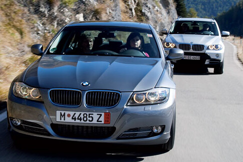 BMW 335d and X5 diesels
