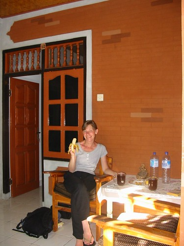 Ontbijt in ons Lovina Hotel