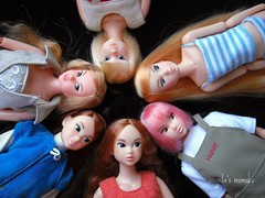 Partial circle of my girls... (Kawaii*Hawaii) Tags: peach sekiguchi momoko petworks 04ny 04rd 04nf 04ssmt 0401mdb