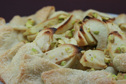 """Funny in Farsi"" Apple Rose Water Pie"