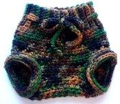 Crocheted Corriedale Wool Soaker (small)