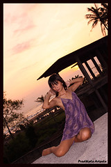 Rena 2 (juzz_arisuta) Tags: sunset people nature girl beautiful asiangirl cantik gadis cewek cakep indonesiangirl