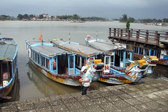 Boats in Hue