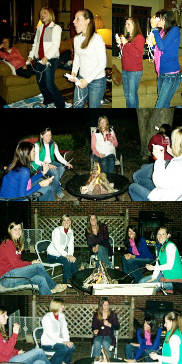 Girls Night Collage