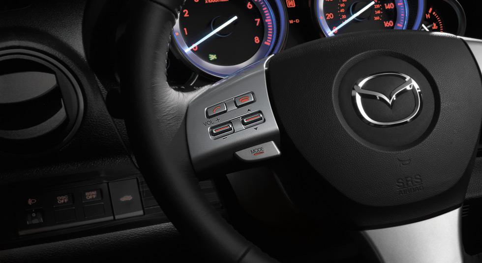 Intuitive steering wheel MAZDA6
