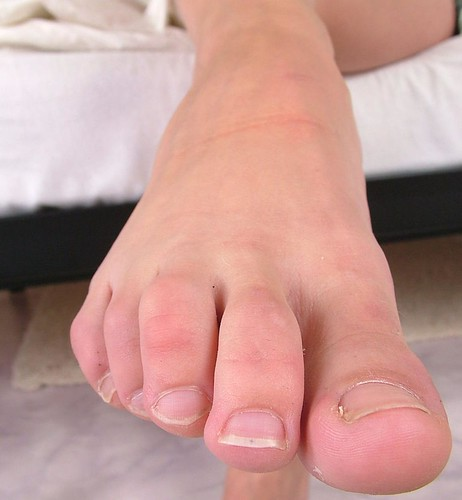 Close up feet pics