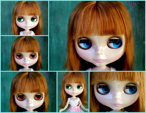 Blythe Prima Dolly Aubrena Collage