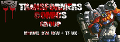 Transformers Comic Group Banner