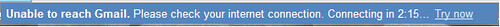 Gmail unreach