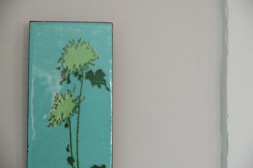 Wall plaque by Kiln Enamel