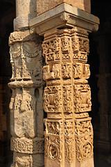 India New Delhi _D7C2010 (youngrobv) Tags: india geotagged nikon asia minaret unescoworldheritagesite gps fx complex qutub minar n1 bharat newdelhi qutb qutab uttarpradesh  0812 robale hindustan alaidarwaza d700    youngrobv 2470mmf28g solmeta alaigate  d7c2010