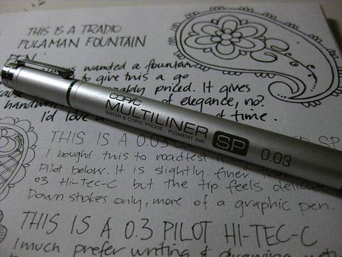 I love pens!