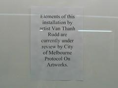 Degraves St artwork censored