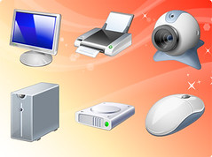 Free Visua Computer Hardware (freeiconsdownload) Tags: art computer hardware icons free images clipart download