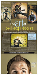 The art of self-expression (Montgomery Advertiser, Saturday April 4th 2009) (Stephen Poff) Tags: alabama days stephen 365 poff montgomeryadvertiser