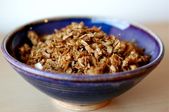 Granola (.mariannika.) Tags: food cooking ma yum eating granola artisthehandmaidofhumangood 60week eatingonabudget