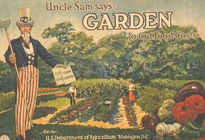 uncle sam victory garden