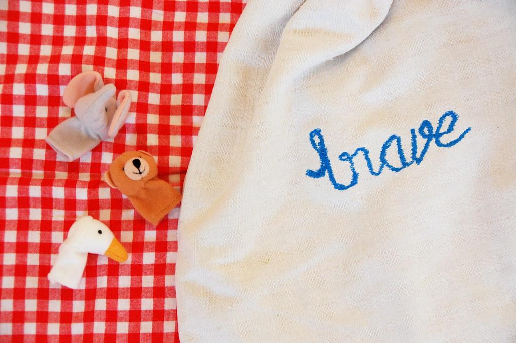 Brave's Easter bag
