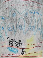 20090109-zozo畫黑面琵鷺