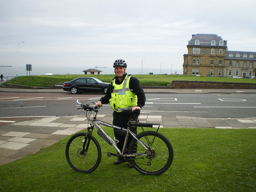 Cycling Police In Tynemouth