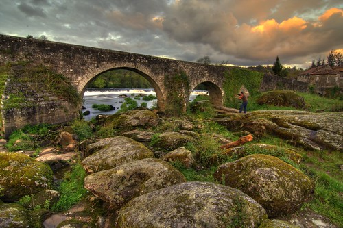 Fotografiando en Ponte Maceira