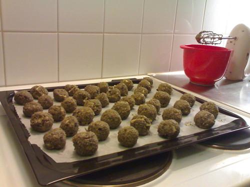 My lavender salted balls!