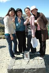 DSC_1356 (Ming - chun ( very busy )) Tags: sky green girl landscape nikon women d70 taiwan   grassland                 14