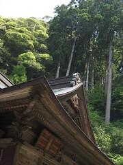 緑豊かな大自然に包まれた神峯寺