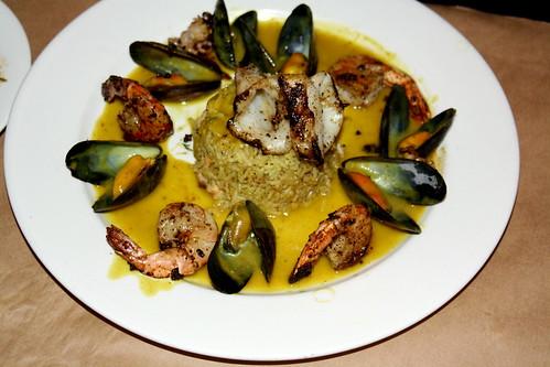 93 Harbord Seafood biryani