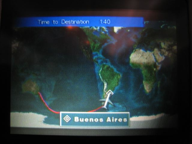 Sydney > Buenos Aires