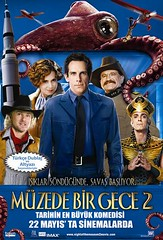 Müzede Bir Gece 2 - Night at the Museum 2 - Night at the Museum: Battle of the Smithsonian (2009)