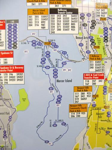 Mercer Island Considers a Shuttle – Seattle Transit Blog