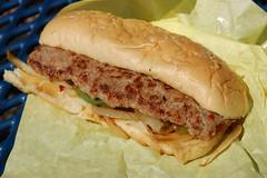 20090523 Italian Sausage Sandwich